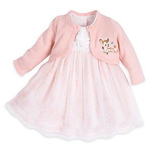 Läs mer om Bambi babyset med klänning och kofta