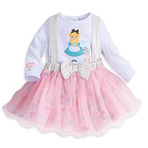 Läs mer om Alice i Underlandet-set med ballerinaklänning