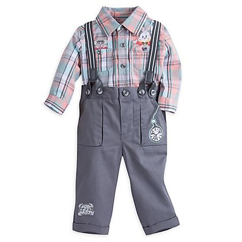 Ensemble chemise et pantalon pour bébé Alice au Pays des Merveilles - 0-3 mois