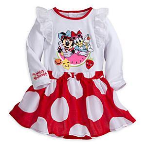 Läs mer om Mimmi Pigg-babyset med lekdräkt och kjol
