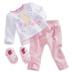Läs mer om Nasse-set med pyjamas och tofflor i barnstorlek