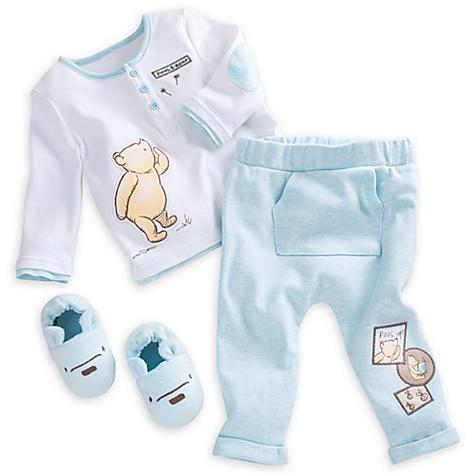 Ensemble de pyjama et chaussons pour bébé Winnie l'Ourson - 12-18 mois
