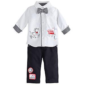 Läs mer om De 101 dalmatinerna babyset med skjorta och byxor
