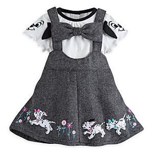 Läs mer om De 101 dalmatinerna babyset med sparkdräkt och klänning