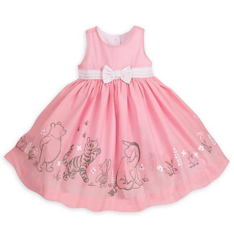 Ensemble gilet, robe et culotte Winnie l'Ourson pour bébé - 12-18 mois