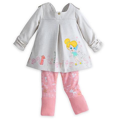 Ensemble haut et legging Fée Clochette pour bébé - 6-9 mois