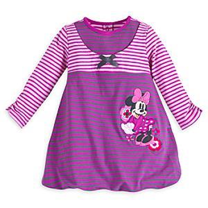Läs mer om Mimmi Pigg randig babyklänning