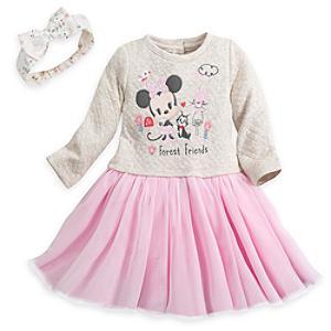 Läs mer om Mimmi Pigg-babyset med klänning, trosor och hårband