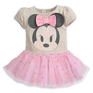 Läs mer om Mimmi Pigg sparkdräkt med ballerinakjol för baby