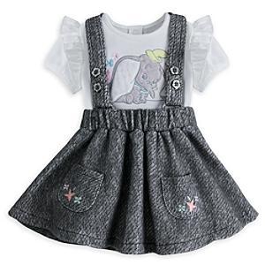 Läs mer om Dumbo-babyset med förkläde och sparkdräkt