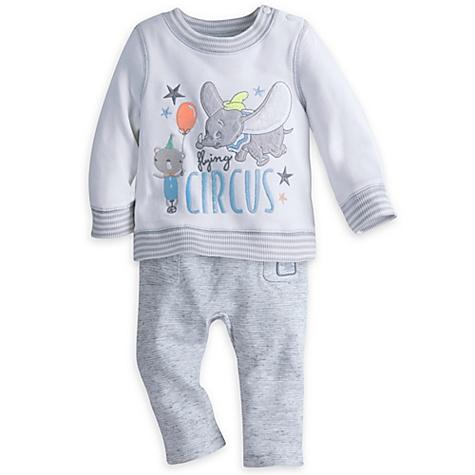 Ensemble haut et pantalon Dumbo pour bébé - 0-3 mois