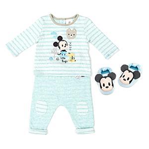 Läs mer om Musse Pigg-babyset med pyjamas och tofflor