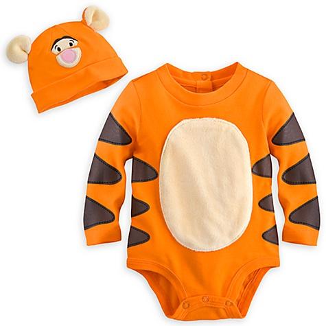 Body déguisement et chapeau Tigrou - 12-18 mois