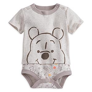 Läs mer om Nalle Puh-lekdräkt i babystorlek