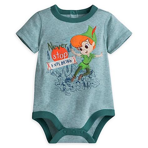 Body Peter Pan pour bébé - 0-3 mois