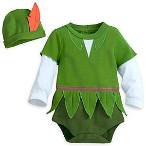 Läs mer om Peter Pan sparkdräkt för utklädning