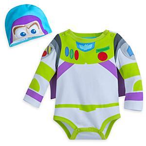 Läs mer om Buzz Lightyear sparkdräkt för utklädning