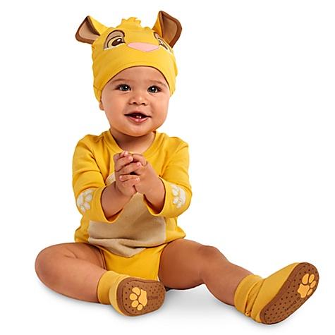 Body déguisement Simba pour bébé - 12-18 mois
