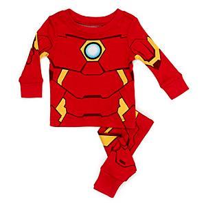 Läs mer om Iron Man babypyjamas