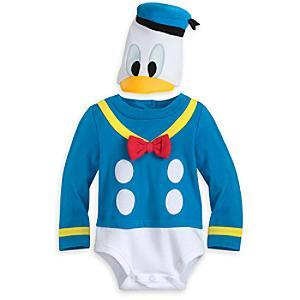 Läs mer om Kalle Anka utklädningsdräkt för baby