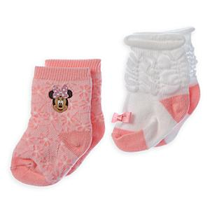 Läs mer om Mimmi Pigg babysockor, 2 par