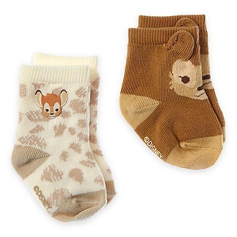 2 paires de chaussettes Bambi Layette pour bébé - 6-12 mois