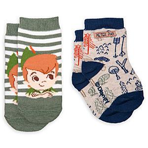Läs mer om Peter Pan babystrumpor, 2-pack