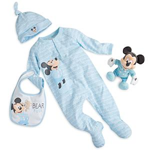 Läs mer om Musse Pigg presentpaket med babykläder