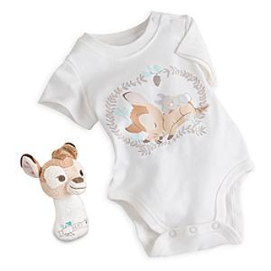 Läs mer om Bambi litet presentpaket med babykläder