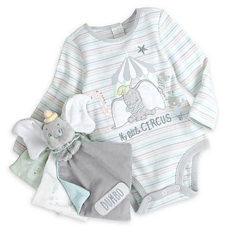 Ensemble cadeau body et livre Dumbo pour bébé - 6-9 mois