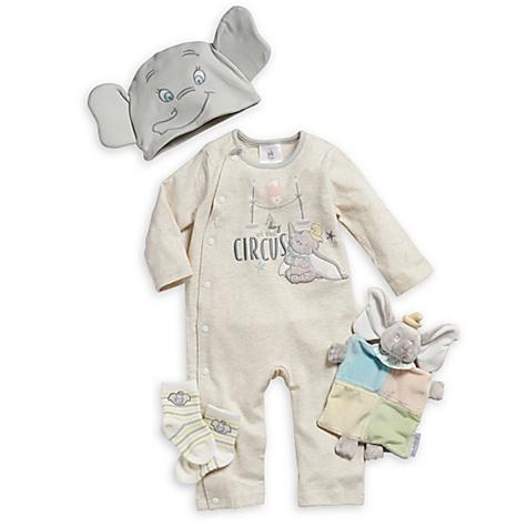 Ensemble cadeau pour bébé Bienvenue à la maison Dumbo - 3-6 mois
