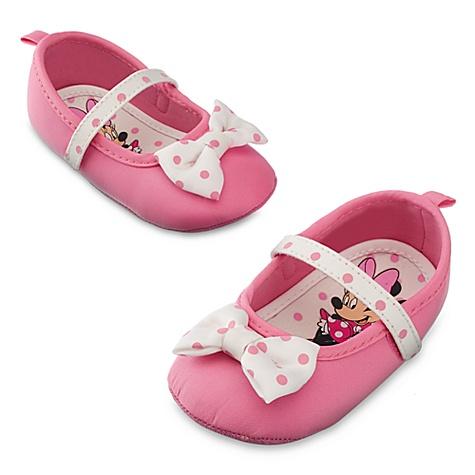 Chaussures de déguisement Minnie Mouse, pour bébé - 0-6 mois