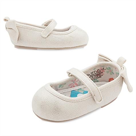 Chaussures pour bébé gris argenté Alice au Pays des Merveilles - 0-6 mois