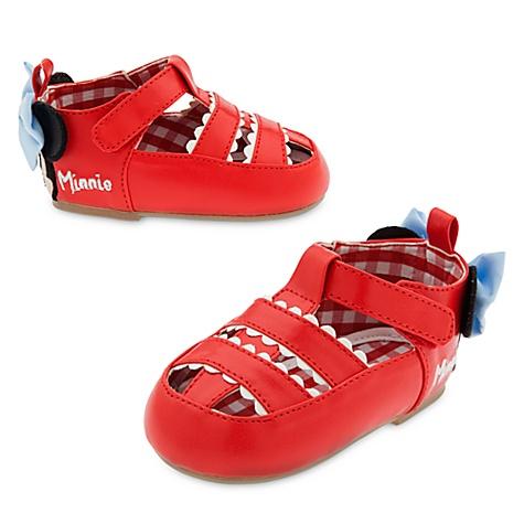 Chaussures pour bébé Minnie - 0-6 mois