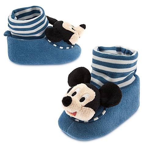 Chaussons pour bébé Mickey - 0-6 mois