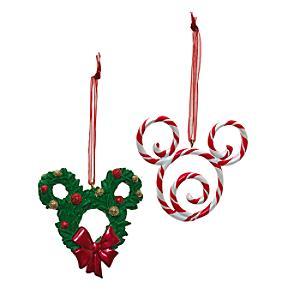 Läs mer om Disneyland Paris Musse Pigg-dekorationer, 2 st