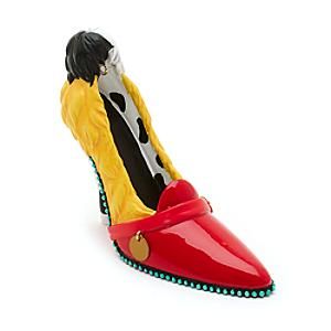disney-parks-cruella-de-vil-miniature-shoe-ornament-101-dalmatians