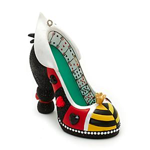 disney-parks-queen-of-hearts-miniature-shoe-ornament-alice-in-wonderland