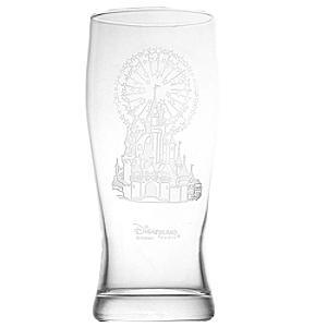 Arribas Glass Collection Disneyland Paris Castle Pint Glass