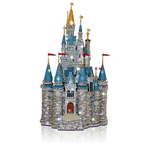 Arribas Jewelled Collection, Cinderella's Castle Large Limited Edition Figurine