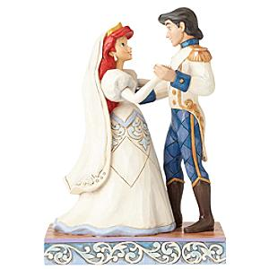 Disney Traditions The Little Mermaid Wedded Bliss Figurine