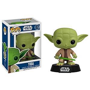 Läs mer om Star Wars Yoda Pop! Vinyl-figur Funko