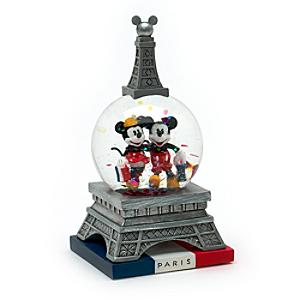 Läs mer om Musse och Mimmi Pigg Paris minisnöglob