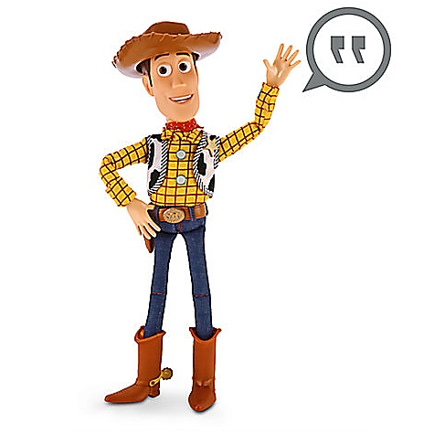 Figurine Woody parlante