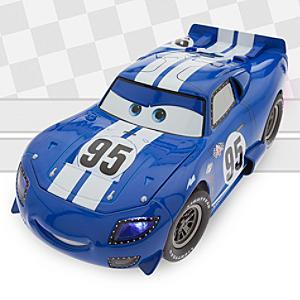 Läs mer om Disney Pixar Bilar diecast-modell Artist-serien, 1:18 Blixten McQueen av Bob Pauley