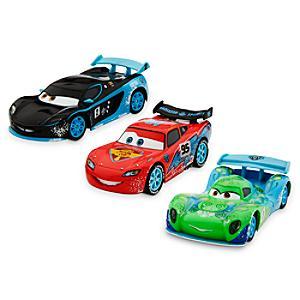 Läs mer om Disney Pixar Bilar Ice diecast-modeller, set med 3