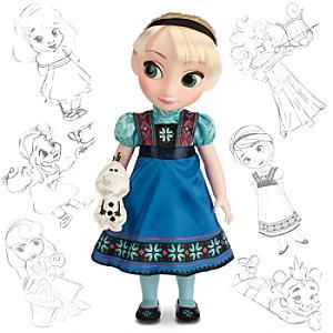 Läs mer om Elsa från Frost docka
