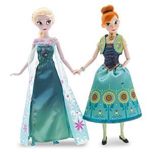 Läs mer om Frostfeber Anna och Elsa dockor