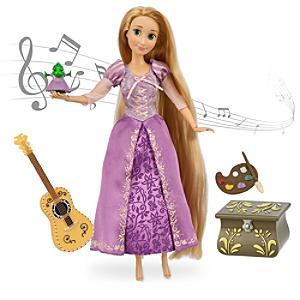 Läs mer om Rapunzel sjungande docka