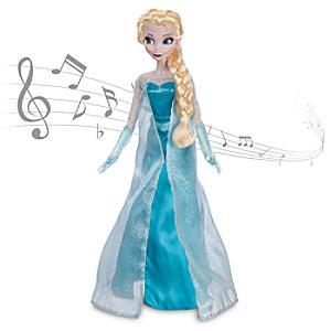 Läs mer om Elsa från Frost, sjungande docka